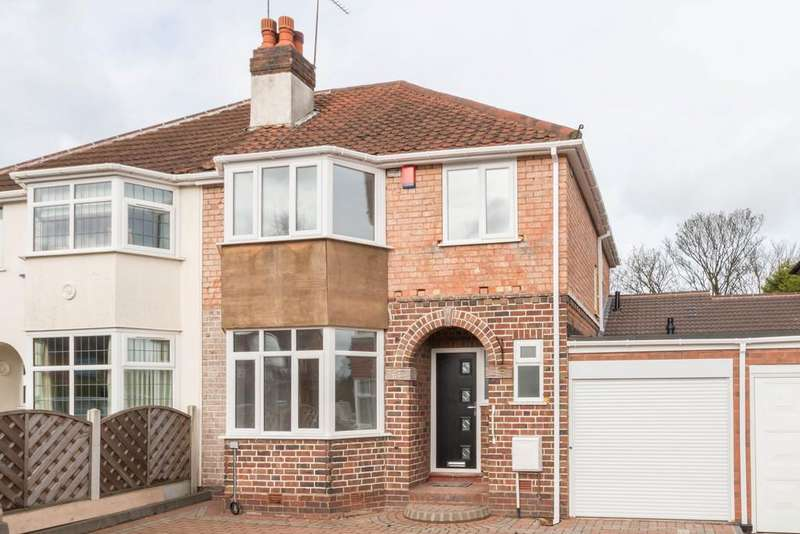 3 Bedrooms Semi Detached House for sale in Solihull Road, Shirley, Solihull