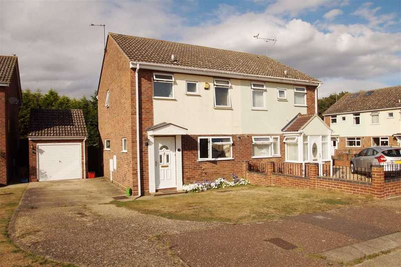 3 Bedrooms Semi Detached House for sale in Anchor End, Mistley, Manningtree