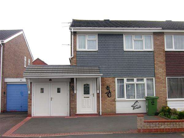 3 Bedrooms Semi Detached House for sale in Ilkley Grove, Chelmsley Wood