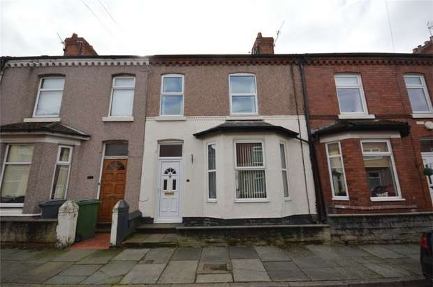 3 Bedrooms Terraced House for sale in Woodford Road, New Ferry, Merseyside