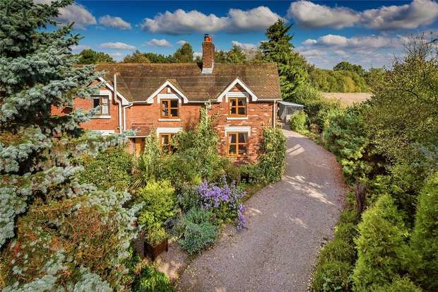 3 Bedrooms Cottage House for sale in 1 Lodge Cottages, Criddon, Upton Cressett, BRIDGNORTH, Shropshire