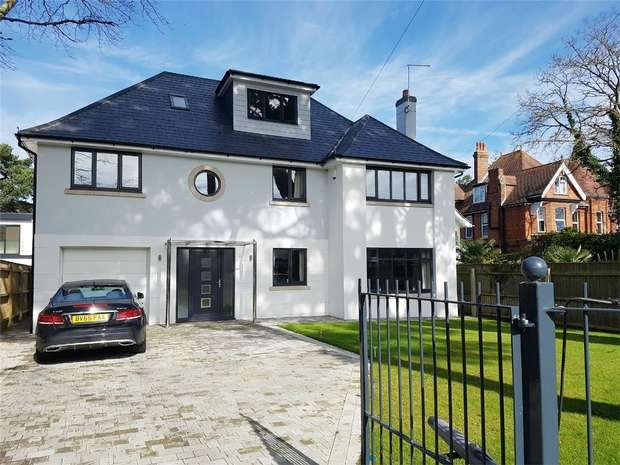 4 Bedrooms Detached House for sale in Beaumont Road, Canford Cliffs, Poole, Dorset