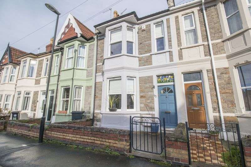 3 Bedrooms Terraced House for sale in Repton Road, Brislington