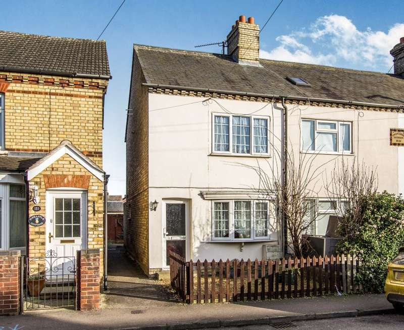 2 Bedrooms Terraced House for sale in Hitchin Street, Biggleswade, Bedfordshire, SG18 8BP