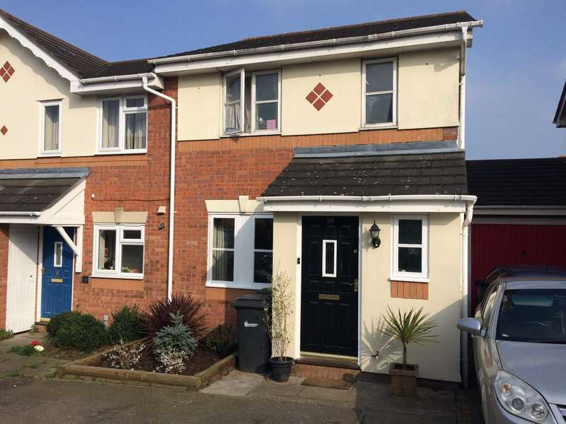 3 Bedrooms Semi Detached House for sale in Deerleap Way, Kings Park, Braintree