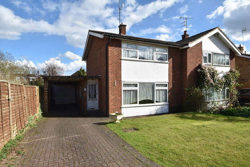 3 Bedrooms Semi Detached House for sale in Stane Close, Bishop's Stortford