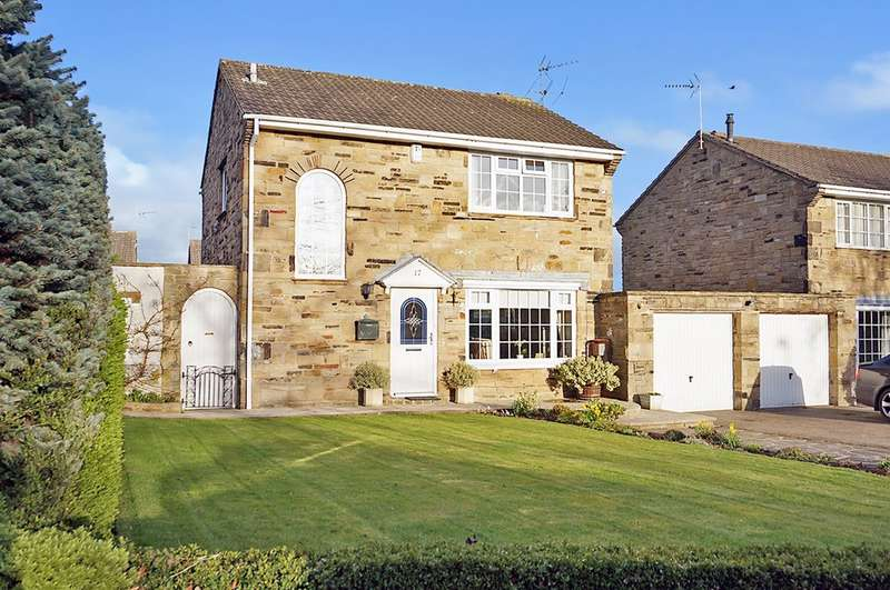 3 Bedrooms Detached House for sale in Egglestone Square, Boston Spa, Wetherby,LS23 6RX