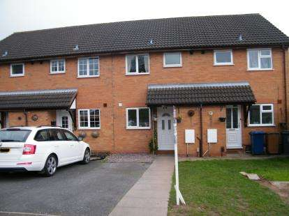 2 Bedrooms Terraced House for sale in Beech Crescent, Burntwood