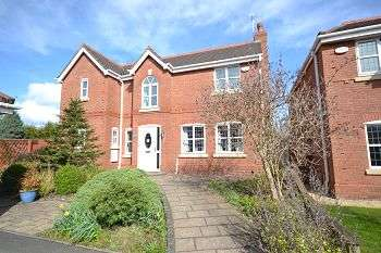 4 Bedrooms Detached House for sale in Herons Wharf, Appley Bridge, Wigan, WN6 9ET