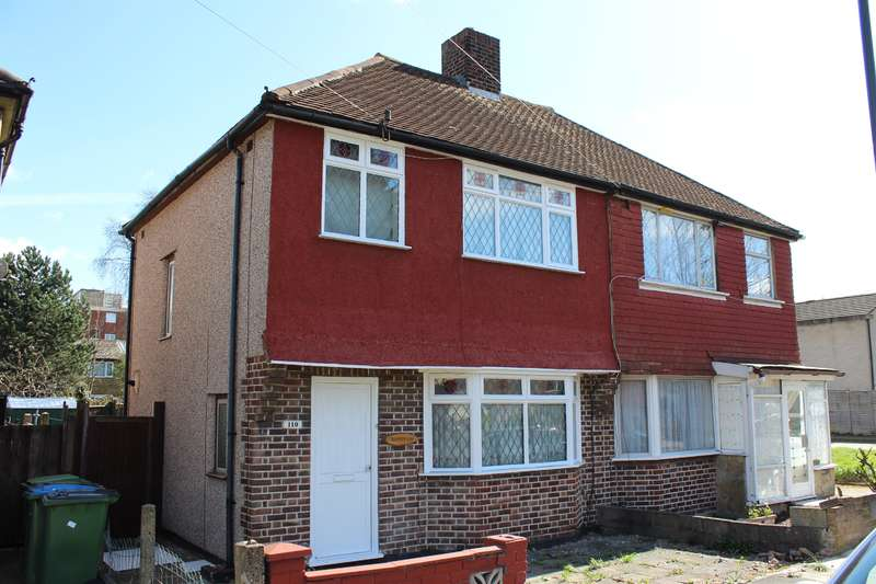 3 Bedrooms Semi Detached House for sale in Woodhurst Road, Abbey Wood, London, SE2 9HT