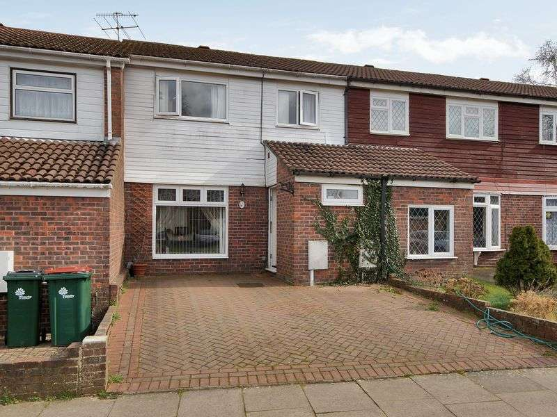 3 Bedrooms Terraced House for sale in Britten Close, Bewbush, Crawley, West Sussex