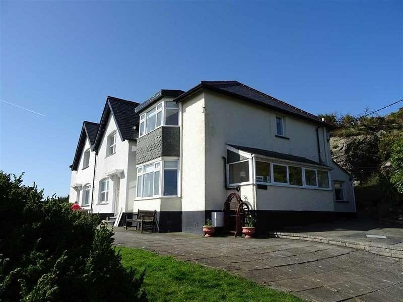 2 Bedrooms Terraced House for sale in Sea View Cottage, 1, Bryniau Uchaf, Aberdyfi, Gwynedd, LL35