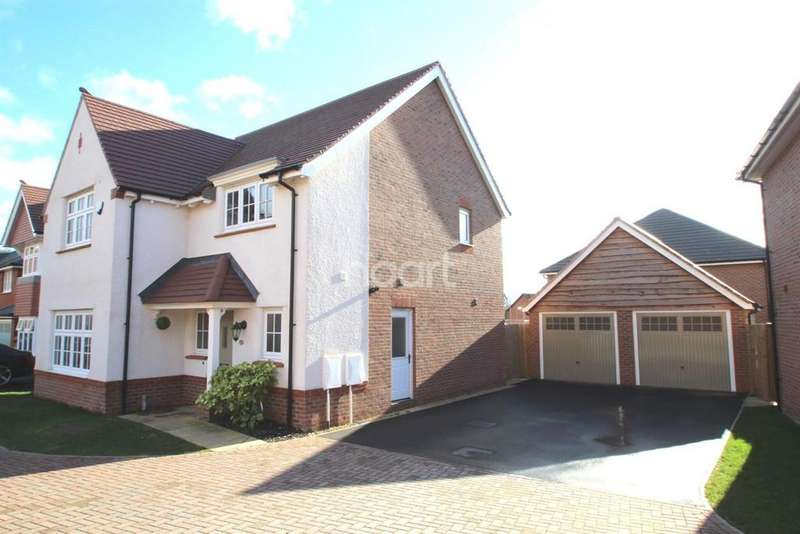 4 Bedrooms Detached House for sale in Bovinger Road, Nightingale Gardens, Leicester