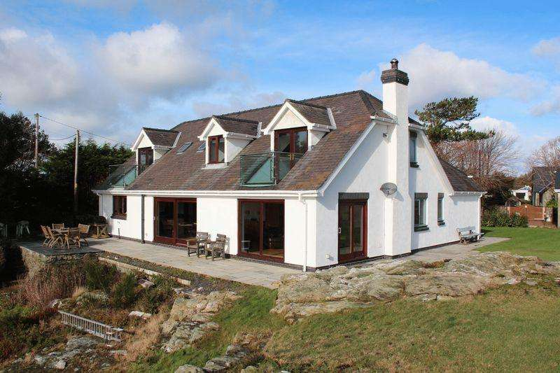 5 Bedrooms Detached House for sale in Lon Towyn Capel, Trearddur Bay