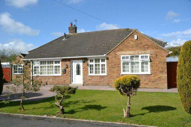 2 Bedrooms Detached Bungalow for sale in Peaks Avenue, New Waltham, GRIMSBY