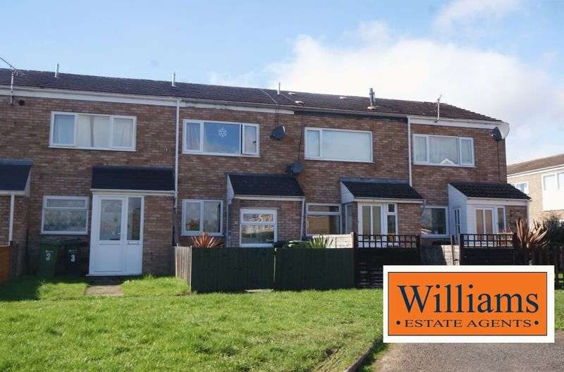 2 Bedrooms Terraced House for sale in Blakemore Close, Hereford