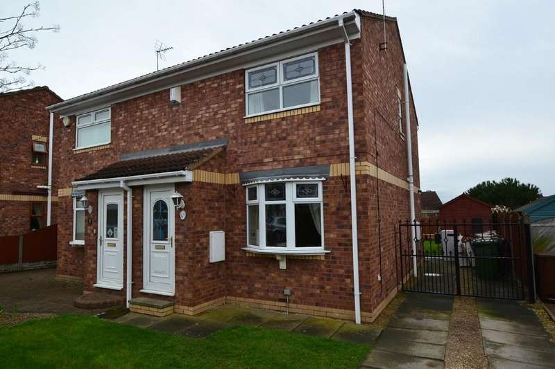 3 Bedrooms Semi Detached House for sale in Mountfields Walk, South Kirkby