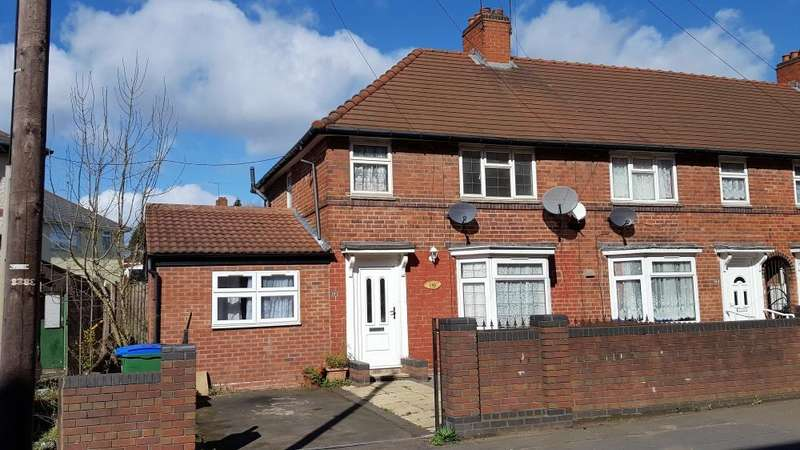 4 Bedrooms Semi Detached House for sale in , MIDDLEMORE RD, WEST BROMWICH, B71
