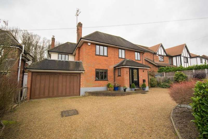 4 Bedrooms Detached House for sale in Middleton Road, Old Shenfield, CM15