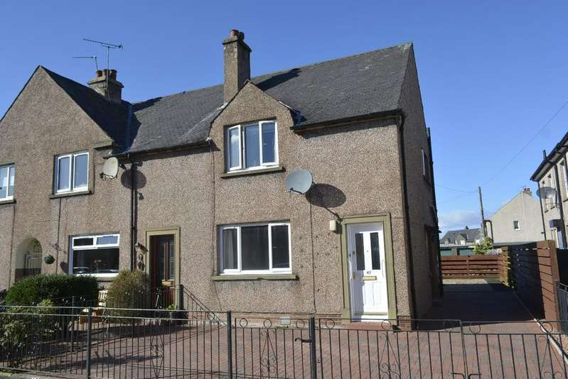 2 Bedrooms End Of Terrace House for sale in Whins Road, St Ninians, Stirling, FK7 0HD
