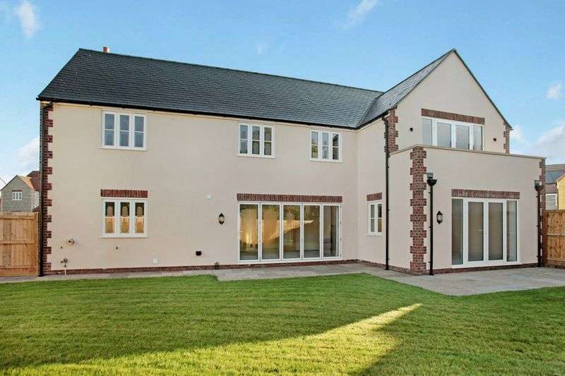 5 Bedrooms Detached House for sale in Meadow Rise, Meare, Glastonbury, BA6 9SE