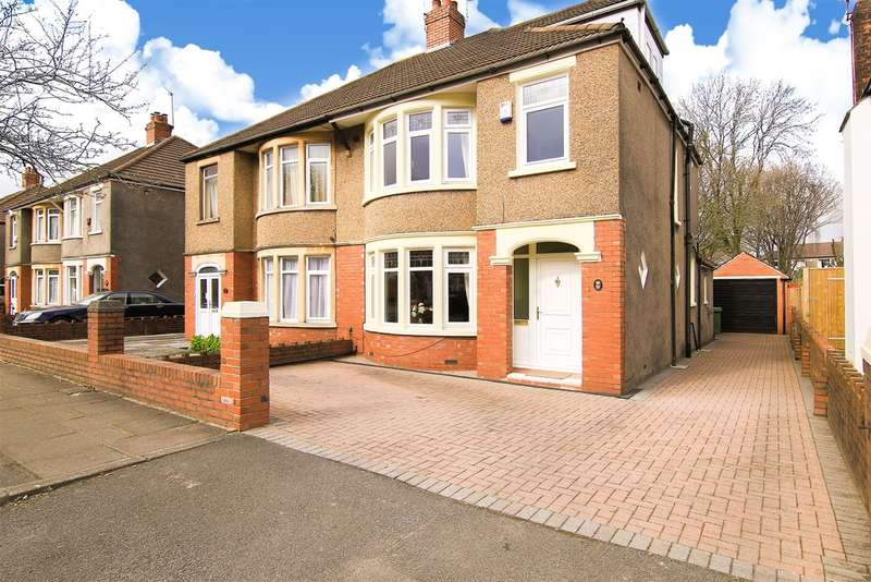 4 Bedrooms Semi Detached House for sale in St Angela Road, Heath, Cardiff