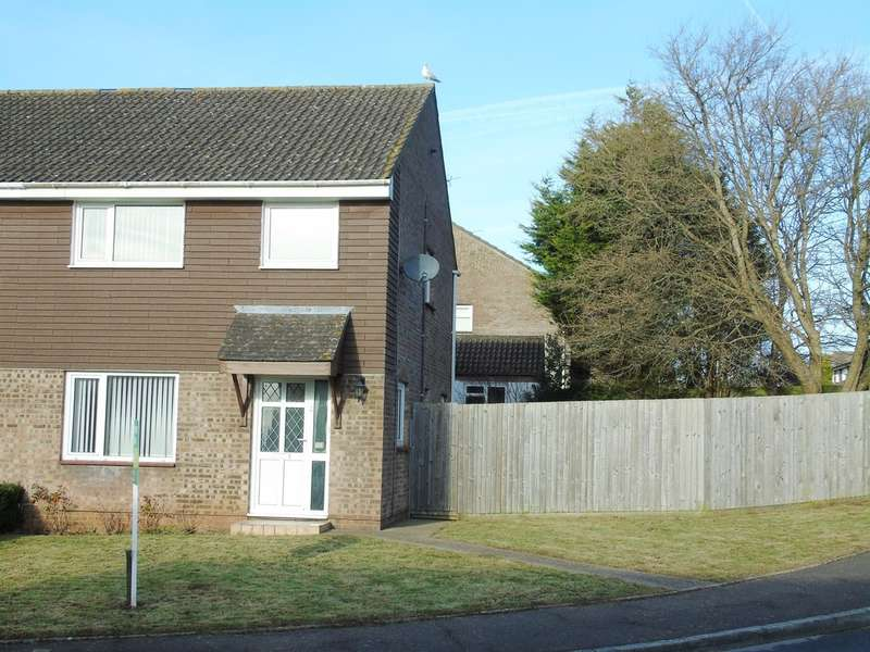 3 Bedrooms Semi Detached House for sale in Slade Close, Sully