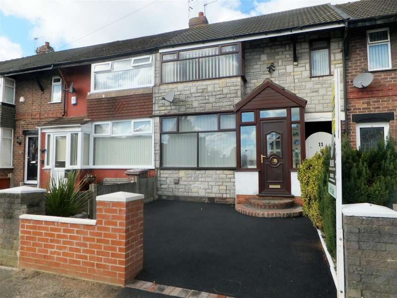 3 Bedrooms Terraced House for sale in Ivy Farm Road, Rainhill, Prescot