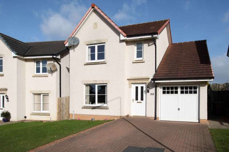 4 Bedrooms Detached Villa House for sale in Fieldfare View, Dunfermline, Fife, KY11 8LF