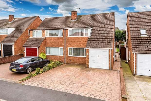 3 Bedrooms Semi Detached House for sale in 51 Broadway Avenue, Trench, Telford, Shropshire