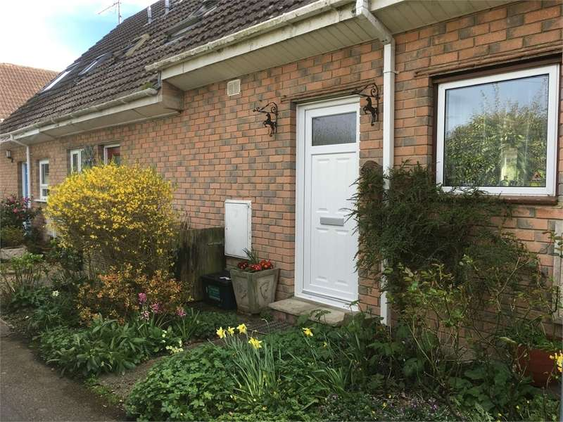 2 Bedrooms Terraced House for sale in Jeremy Close, Wool, WAREHAM, Dorset