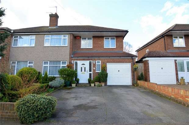 5 Bedrooms Semi Detached House for sale in Briarley Close, Broxbourne, Hertfordshire