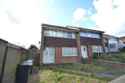 3 Bedrooms Semi Detached House for sale in Pytchley Rise, Wellingborough, Northamptonshire