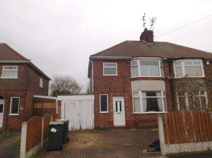 3 Bedrooms Semi Detached House for sale in Shortwood Avenue, Hucknall, Nottingham, Nottinghamshire