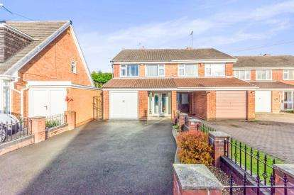 3 Bedrooms Semi Detached House for sale in Harlech Road, Willenhall, West Midlands