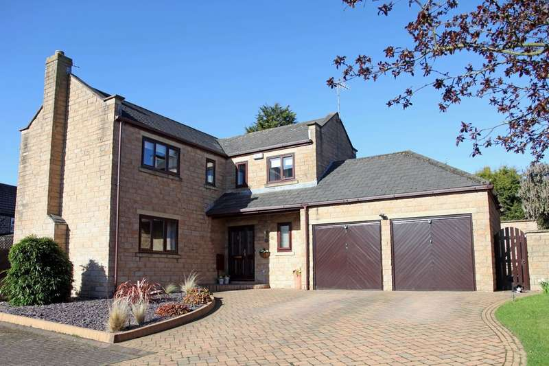 4 Bedrooms Detached House for sale in Manor Farm Court, Thrybergh