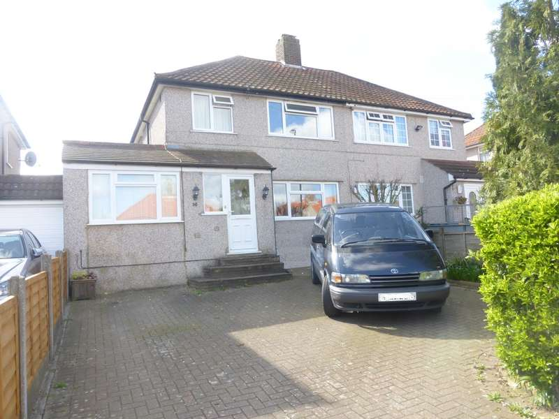 3 Bedrooms Semi Detached House for sale in Wolsey Crescent, New Addington, CR0 0PF