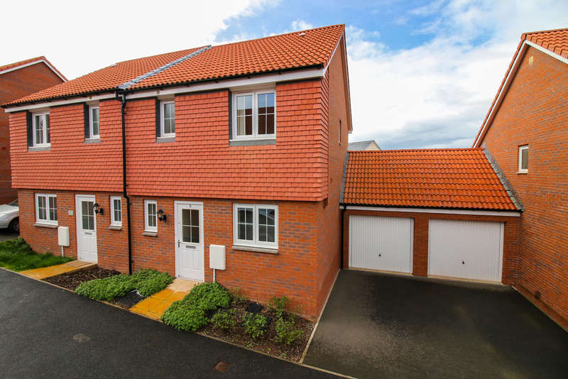 3 Bedrooms Semi Detached House for sale in Post Coach Way, Cranbrook