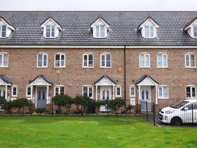 3 Bedrooms Terraced House for sale in Mears Beck Close, Heysham, Lancashire, LA3 1UX