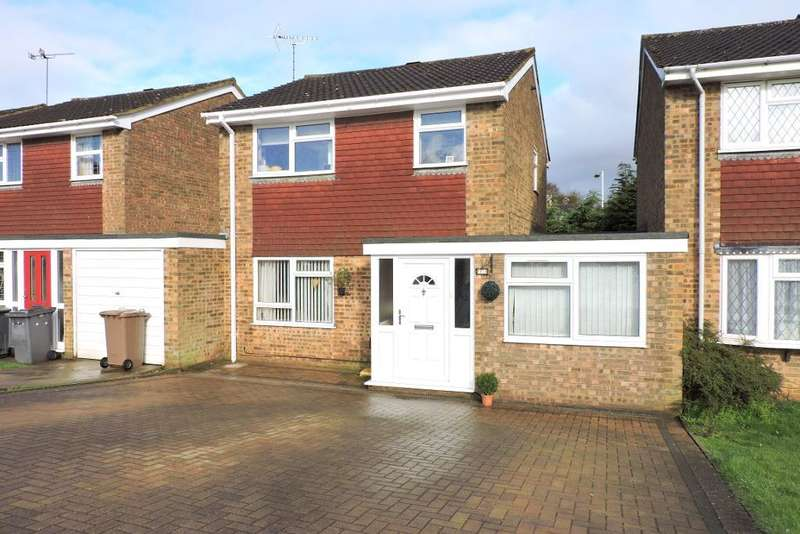 3 Bedrooms Detached House for sale in Brill Close, Luton, Bedfordshire, LU2 9RL