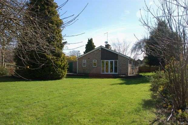 4 Bedrooms Detached Bungalow for sale in Pitsford Road, Moulton, Northampton NN3 7SY