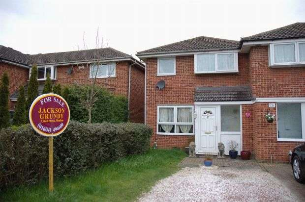 3 Bedrooms End Of Terrace House for sale in Cottingham Drive, Moulton, Northampton NN3 7LD