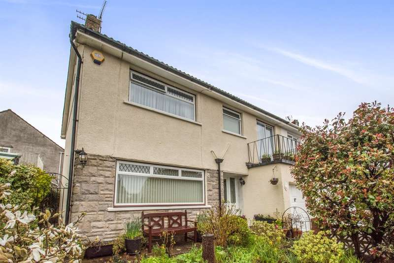 4 Bedrooms Semi Detached House for sale in Cae Newydd Close, Cardiff