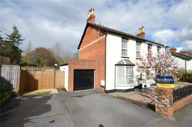 3 Bedrooms Semi Detached House for sale in Pottery Road, Bovey Tracey, Newton Abbot, Devon
