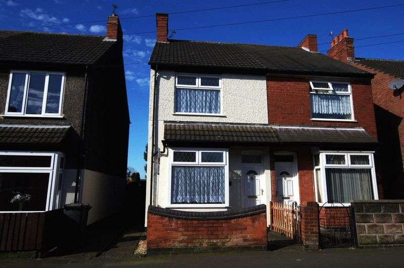 3 Bedrooms Semi Detached House for sale in Crescent Rd, Hugglescote