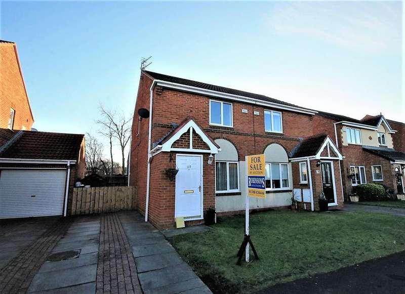2 Bedrooms Semi Detached House for sale in Meadow Green, Spennymoor