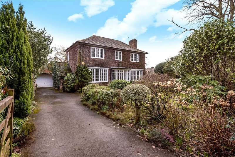 3 Bedrooms Detached House for sale in Racecourse Road, Wilmslow, Cheshire, SK9