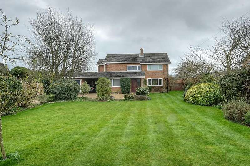 4 Bedrooms Detached House for sale in Bracon Ash, Norfolk
