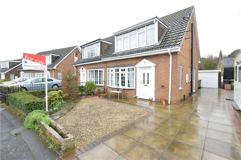 3 Bedrooms Semi Detached House for sale in Lyme Chase, Leeds, West Yorkshire