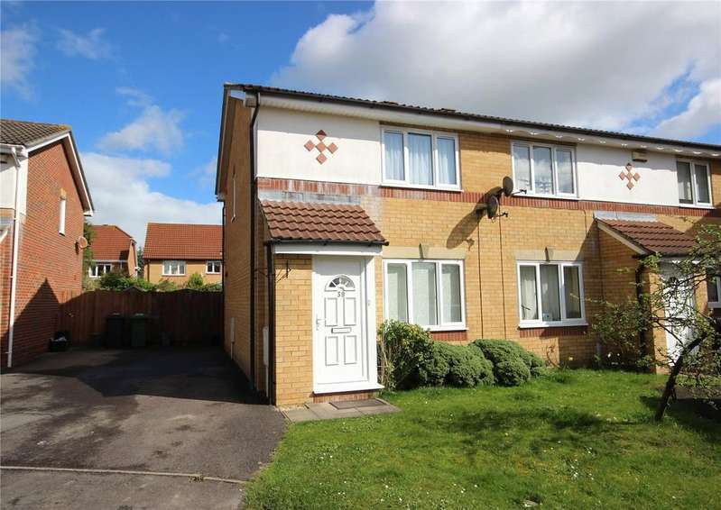 2 Bedrooms Semi Detached House for sale in Linden Drive, Bradley Stoke, Bristol, BS32